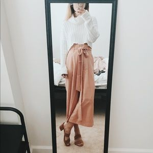 Paperbag Culottes Pants